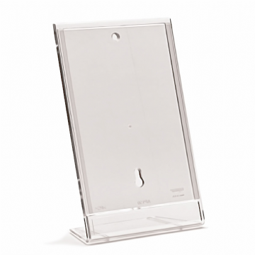 AP150 | A4 Angled Ad-Print / Notice Holder